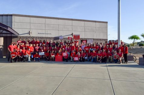 Red for Ed!