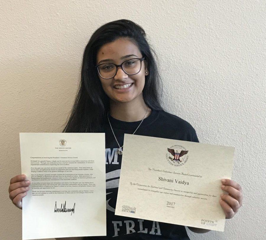 Presidential Outstanding Volunteer Award