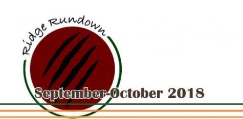 The Ridge Rundown- Fall 2018