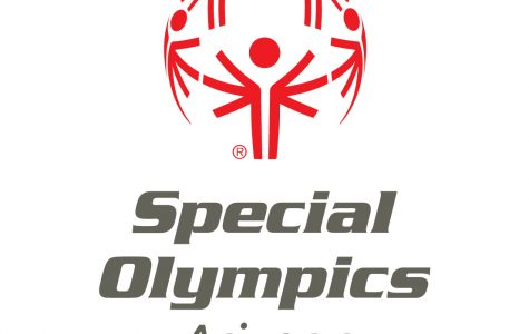 Swim and Dive Volunteers at Arizona's Special Olympics
