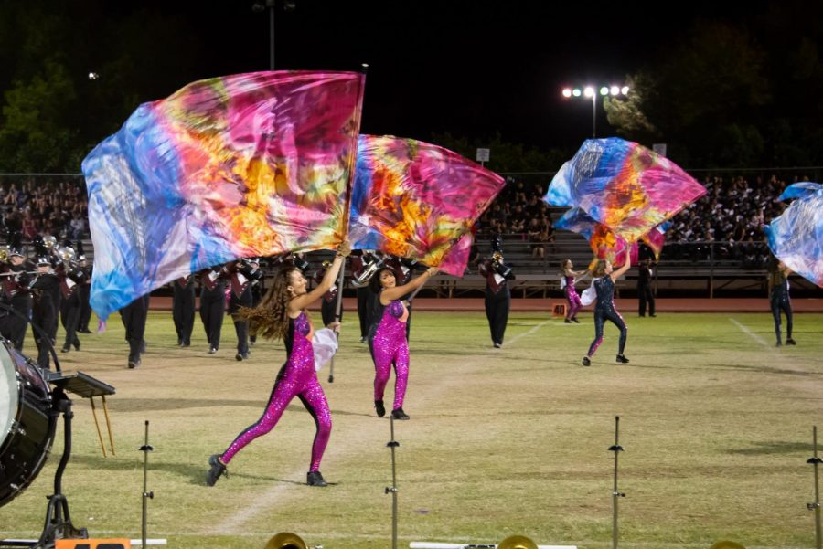 Color Guard is Going to Nationals