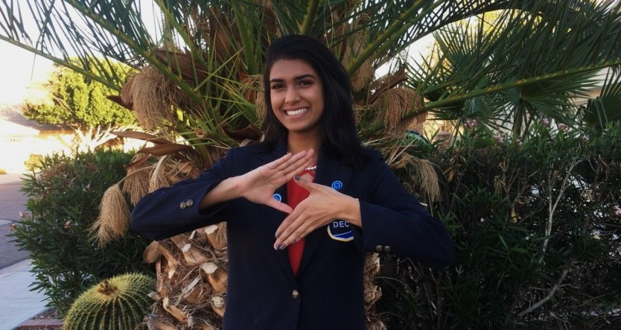 All About DECA and the State Officer