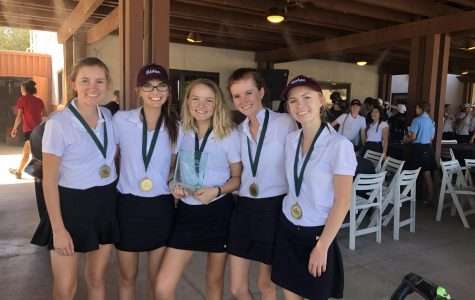 Girls Golf Wins Tournament