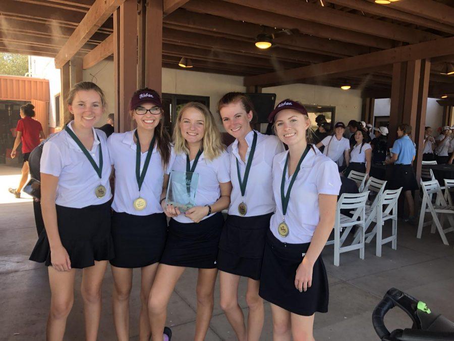 Girls Golf Wins Tournament