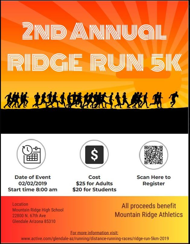 Sign Up for the Ridge Run!