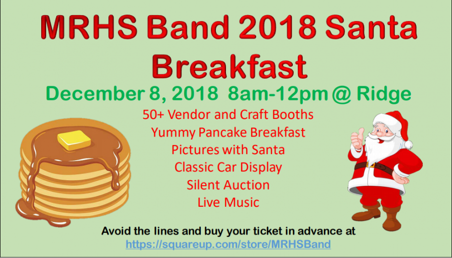 Band Santa Breakfast!