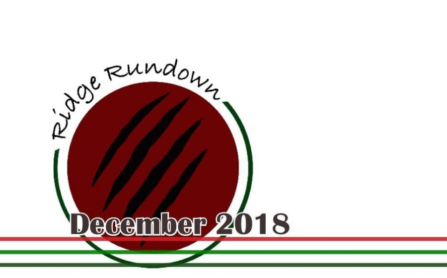 The Ridge Rundown-Winter 2018