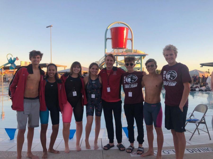 MRHS Swim Team Competes in Championships