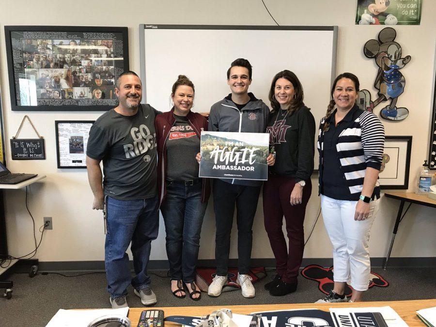 MRHS Student receives Utah State Ambassador Scholarship