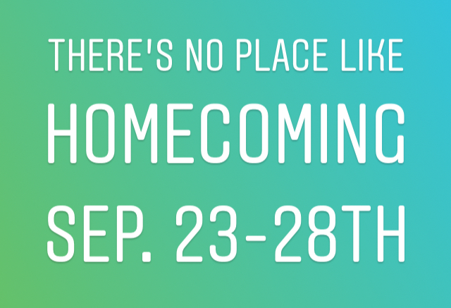 September Homecoming Events