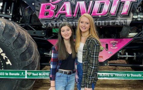 Pictured: Ava Padelford and Alexa McClain (freshmen)