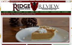 A Ridge Review Web-Tutorial