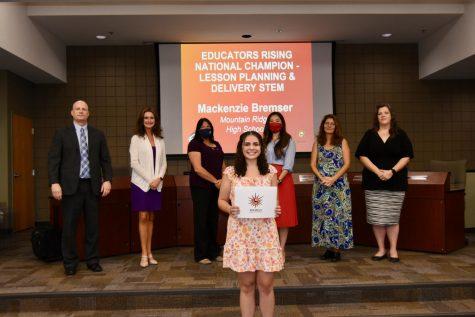 Mackenzie Bremser: Educators Rising National Championship winner